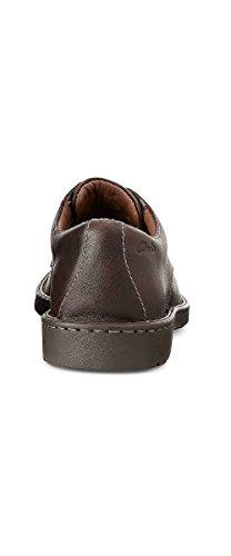 Uomo Way modello Scarpa Brown Leather derby Brown Stratton classica Clarks qP17w7