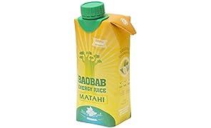 MATAHI, BAOBAB ENERGY JUICE - PACK DE 8 X 33cl