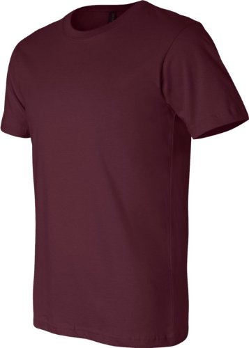 Belowty Bella + Canvas Unisex Jersey Short Sleeve Tee Braun - braun