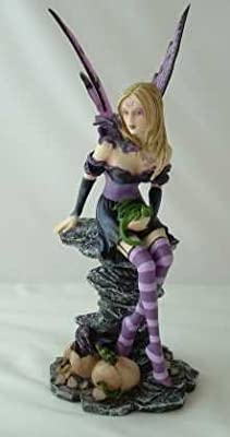 Nemesis Now Collectable Fairies - Amethyst & Hatchlings Fairy - 25.5cm - NEM3232