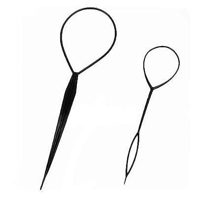 BONAMART 2pcs Haar Tail