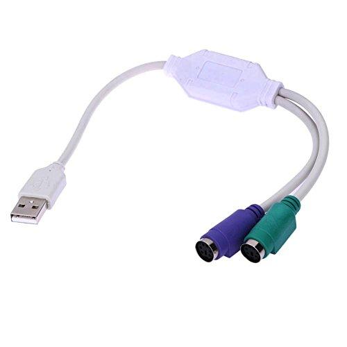 USB Al Adaptador Demiawaking USB Al Adaptador Del Cable Del Convertidor Del Teclado Del Ratón PS2