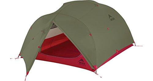 MSR Mutha Hubba 3P Lightweight Tent Red
