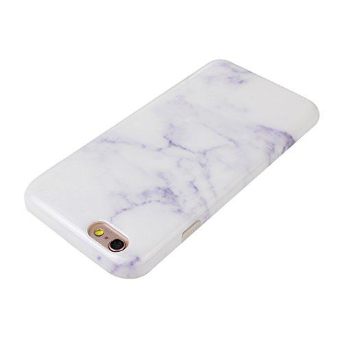 Case iPhone 6S, Coque iPhone 6 Silicone, iPhone 6 Étui, Moon mood pour iPhone 6/6S Case Cover Fleurs Couleur TPU Silicone Ultra Mince Doux Slim Retour résistant aux rayures Cas de Shell Housse Doux Bo Style-9