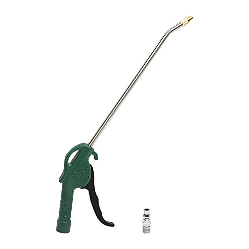 """MPLUS 10"""" Ausblaspistole, Reinigungspistole mit Adaptor, Messingkopf Staubpistole, Druckluft-Ausblaspistole für Auto und andere Maschinen, Pneumatisches Werkzeug"""