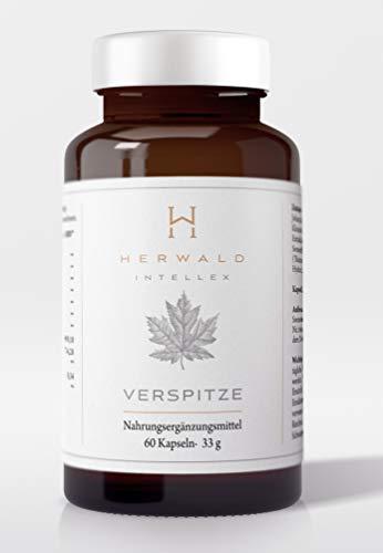 oster mit Heilpflanzen und Vitamin B Komplex - 60 Kapseln - Vegan Ginkgo Braineffect Johanniskraut Focus Huperzia Kleines Fettblatt ()