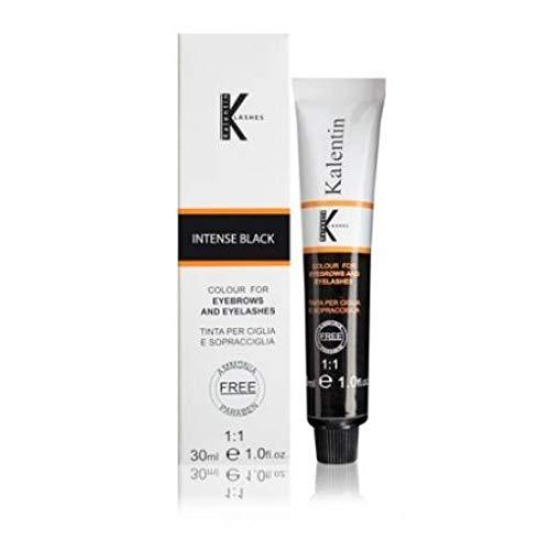 Kit lashes tinta sopracciglia e ciglia professionale senza ammoniaca e senza parabeni nero grafite black tubo 30ml + emulsione ossidante attivatore 30m