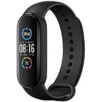 Xiaomi Band 5 Smart Fitness Bracelet Cardiofréquencemètre, Bracelet étanche de Sport, 2020 Dernier écran Bluetooth 5.0 Couleur AMOLED, Noir, Mi Bande 5, Noir