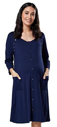 Happy mama donna camicia per parto prenatal prmaman allattamento ospedale.637p (marina, it 46/48, l)