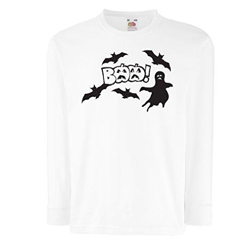angen Ärmeln BAAA! - Funny Halloween Costume Ideas, cool Party Outfits (9-11 Years Weiß Mehrfarben) ()