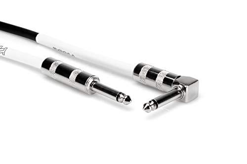 Hosa GTR205R - Cable para guitarra jack 6.3 mm