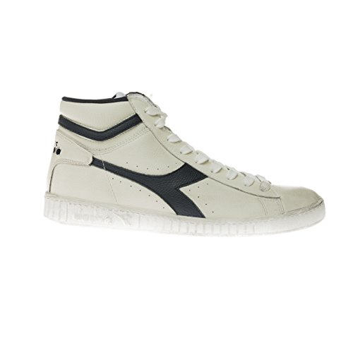 Diadora Game l High Waxed unisex adulto scarpe da tennis, nero, 42.0 EUR Multicolore