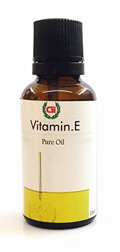 Grasse International -Vitamin E. Oil - 25 ml - Pure and Therapeutic Grade - Exceptional Choice for Aromatherapy, Massage Suitable for All Skin Types Pure Essential Oil (25ML)