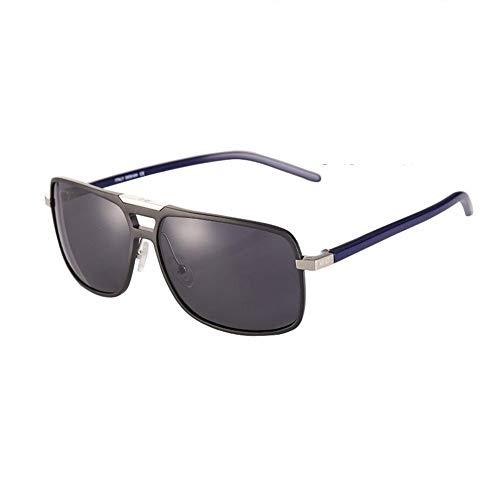 JFFFFWI HD Polarized Sonnenbrillen - Aluminium Magnesium Square Frame - Driver Eyewear