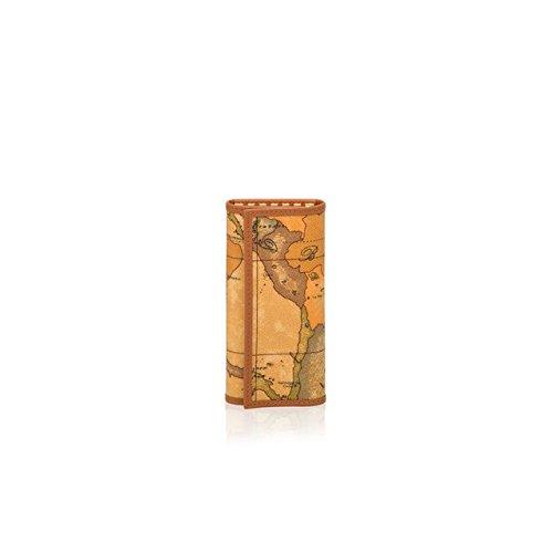 Alviero Martini 1a classe W252, Portachiavi Donna, Beige (Naturale), 13x0.6x10 cm (W x H x L)