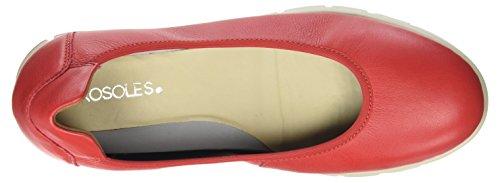 Aerosoles Fast Track, Ballerines femme Red (Red)
