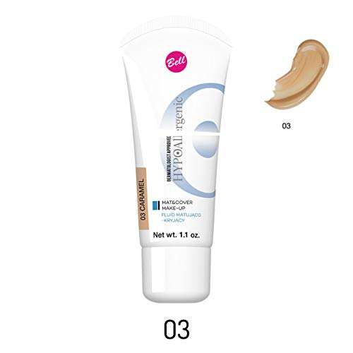 Bell hipoalergénico alfombrilla cubierta Maquillaje