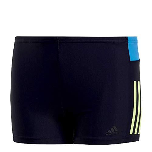 adidas Jungen FIT BX III CB B Swimsuit Legend Ink/hi-Res Yellow, 13-14 Years
