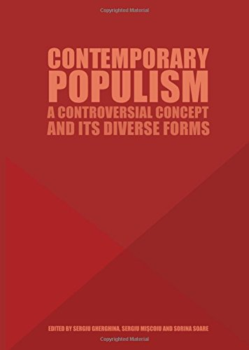 Contemporary Populism: A Controversial Concept and its Diverse Forms