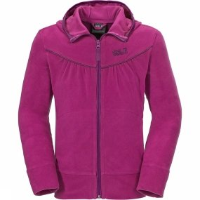 jack-wolfskin-badger-jacket-girls-nanuk-gr-164-dark-magenta