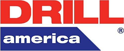 #38 Cobalt Heavy Duty Split Point Stub Drill Bit by Drill America - 64 Split Point Drill Bit