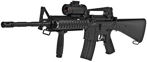 Softair AEG M83B1 XXL SET Gewehr + Red Dot + Schutzbrille + RIS Griff + Tragegurt