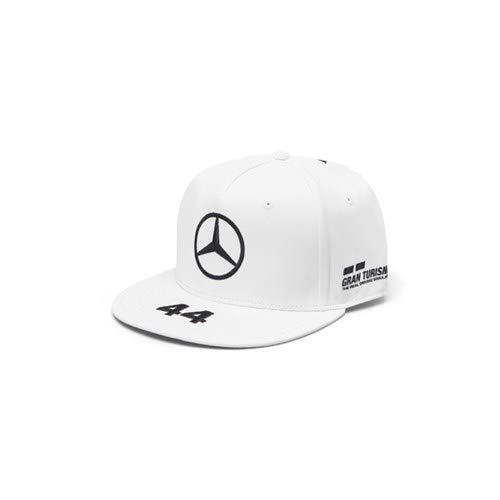 Mercedes-AMG Petronas Motorsport 2019 F1TM. Lewis Hamilton Flatbrim-Kappe - Weiß