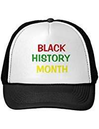 Funny Black And White Black History Month Hat