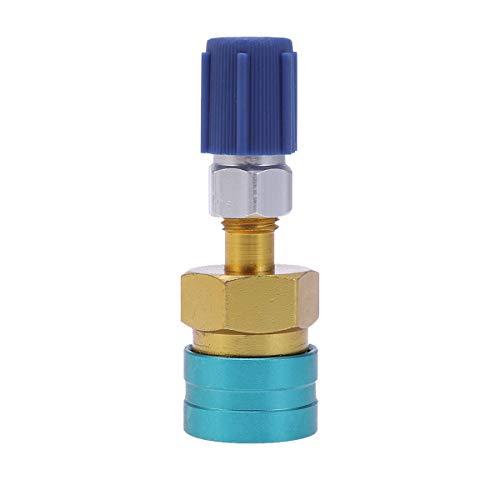 BESPORTBLE R1234YF Manueller Kupplungsstecker-Adapter für Kfz-Klimaanlagen-Kältemittelfüllschlauch Autoklimaanlage Fluor-Zubehör Klimaanlagenzubehör
