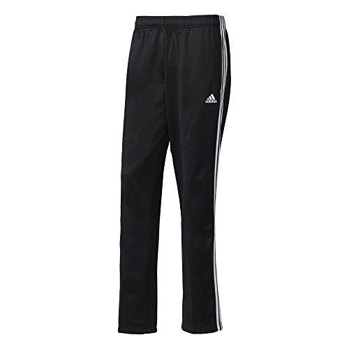 adidas Herren Essentials 3-Streifen Hose, Blau Black/White