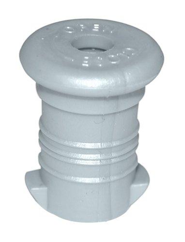 Ersatzverschluss / Stöpsel für ISYbe Trinkflasche, silber