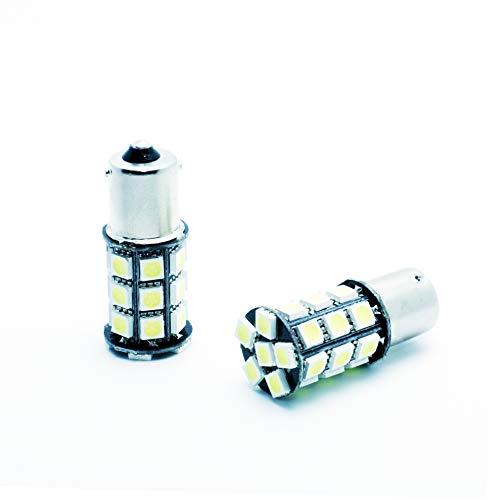 1200 l/úmenes 2 unidades luz de freno de marcha atr/ás y luz de freno de estacionamiento 48 ledes SMD 4014 TUINCYN 1156 Bombillas led muy brillantes 1095 compatibles con 1141 750 12 V-24 V CC luz intermitente blanco fr/ío 6500 K