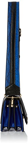 Mario Valentino Damen Wasabi Tornistertasche Blue (Blu/Multicolor)