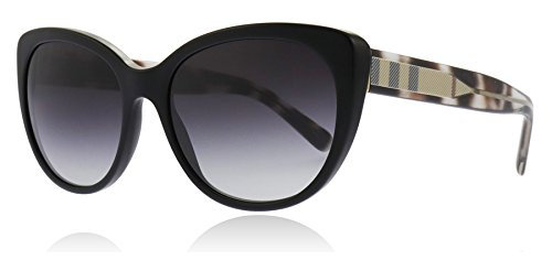 BURBERRY Damen 0Be4224 30018G 56 Sonnenbrille, Schwarz (Black/Gray),