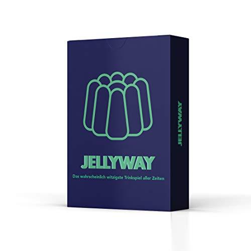 Jellyway - das wahrscheinlich witzigste Trinkspiel Aller Zeiten   Partyspiel - Kartenspiel - Spieleabend - Saufspiel - Trinkspiel - Perfekt zum Junggesellenabschied