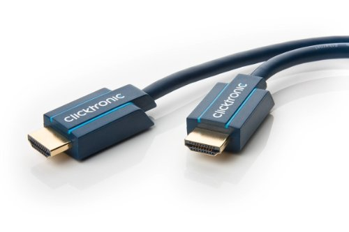 Clicktronic Casual Standard HDMI Kabel mit Ethernet (Full HD, 3D-TV, ARC, 10m)