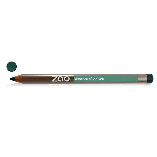 ZAO Holzstift 604 dunkelgrün Kajal Eyeliner Konturenstift (bio, Ecocert, Cosmebio, Naturkosmetik)