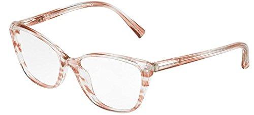 Alain mikli occhiali da vista 0a03082 striped nude donna