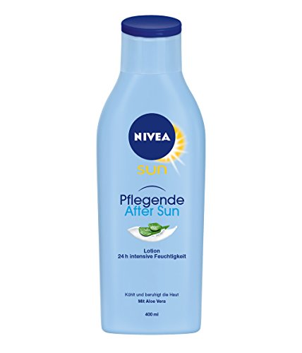 After-sun-lotion (NIVEA SUN Pflegende After Sun Lotion, 400 ml Flasche)