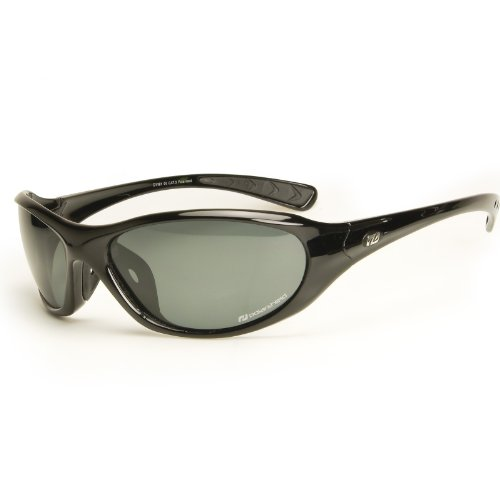 Daisan polarisierende Sonnenbrille Sportbrille - schwarz
