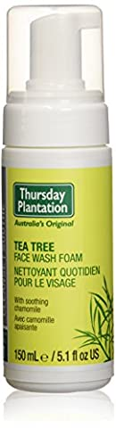Nature's Plus, Thursday Plantation, Face Wash Foam, Tea Tree, 5.1 fl oz (150 ml)