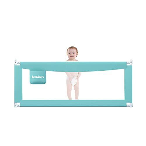 LYDB DBSCD Baby-Laufstall Bettzaun bruchsicherer Schutzzaun Anti-Drop-Bettschutzzaun für Kleinkinder Einseitige Leitblechsicherung Universal Stark und langlebig/Hergestellt von Nicht-Zu Drop-off-panel