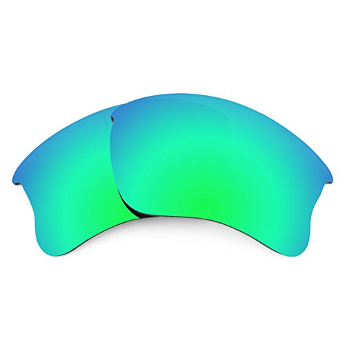 Revant Ersatzlinsen für Oakley Flak Jacket XLJ Emerald Grün MirrorShield®
