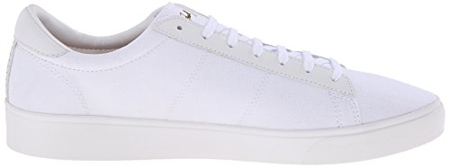 Fred Perry Wmns Spencer Canvas Leather White Blanc