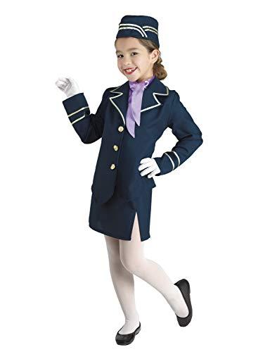 Clown Republic 88908/08 - Disfraz de hoscia del aire, para niña, multicolor