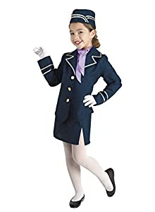 Clown Republic 88912/12 - Disfraz de hoscia del aire para niña, multicolor