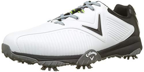 Callaway Chev Mulligan, Chaussures de Golf Homme, (Blanc/Noir), 42 EU
