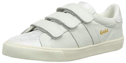 Gola Damen Orchid Shimmer Sneaker, Elfenbein (Off White OW), 39 EU -