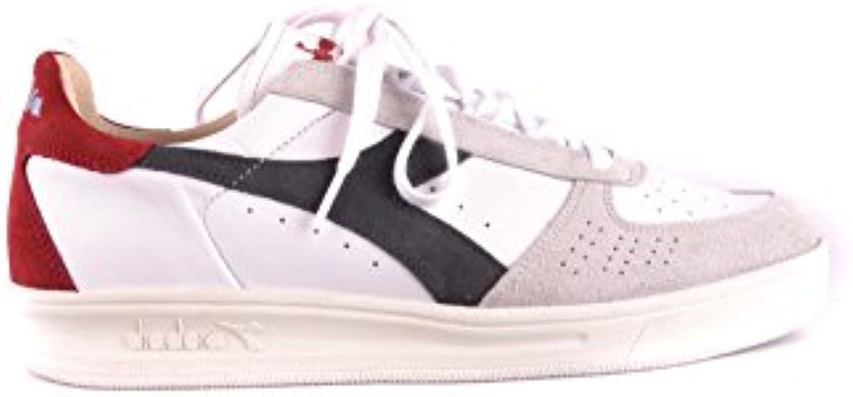 Diadora Heritage Herren MCBI094075O Weiss Wildleder Sneakers