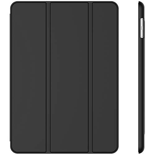 JETech Hülle für iPad (9,7 Zoll, Modell 2018/2017, 6. / 5. Generation), Intelligent Schutzhülle mit Auto Schlafen/Wachen, Schwarz